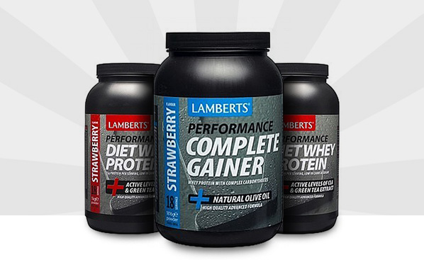 Complete gainer & whey protein
