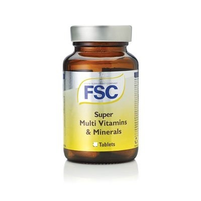 FSC Super Multi Vitamins & Minerals 30 tablets