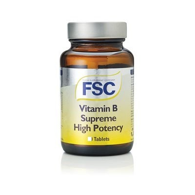 FSC Vitamin B Supreme High Potency 60 tablets