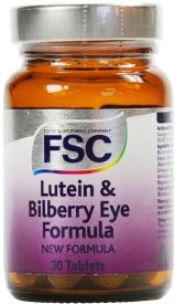 FSC Lutein & Bilberry Eye Formula 30 tablets