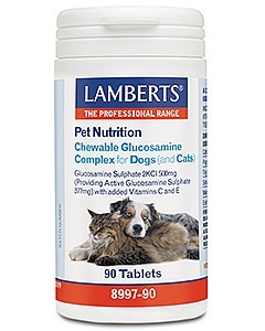 Lamberts Chewable Glucosamine Complex for Dogs and Cats