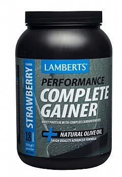 Lamberts Complete Gainer Strawberry