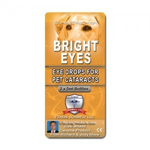 Ethos Bright Eyes NAC Eye Drops for Pets Cataracts
