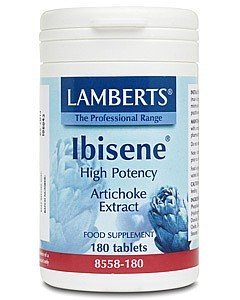 Lamberts Ibisene High Potency Artichoke 1000mg 180 tablets
