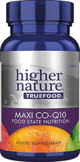 Higher Nature True Food Co Enzyme Q10 30 capsules