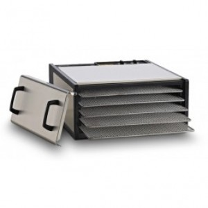 Excalibur Stainless Steel 5-Tray Dehydrator with Timer