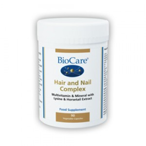 BioCare Hair & Nail Complex 90 Capsules