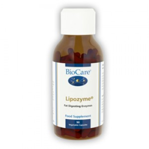 BioCare Lipozyme (Lipid Digesting Enzyme) 90 Capsules