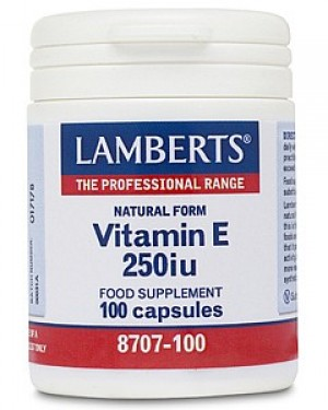 Lamberts Natural Vitamin E 250iu