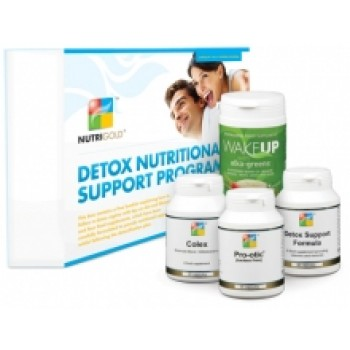 Nutrigold Detox Support Programme kit