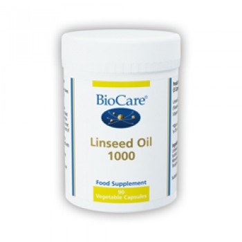 BioCare Linseed Oil 1000 (Flaxseed Oil) 90 Capsules