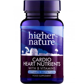 Higher Nature Cardio Heart Nutrients 30 capsules