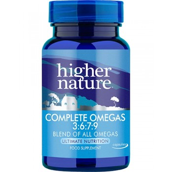 Higher Nature Complete Omegas 3:6:7:9 90 capsules