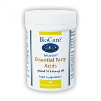 BioCare MicroCell Essential Fatty Acids (Linseed & GLA) 60 Capsules
