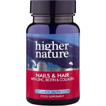 Higher Nature Nail and Hair Formula 60 capsules