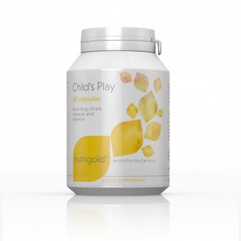 Nutrigold Childs Play 60 capsules