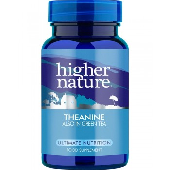 Higher Nature Theanine 30 capsules
