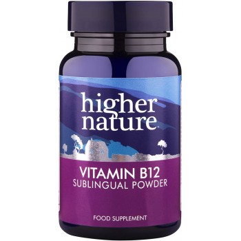 Higher Nature High Potency Vitamin B12 Powder