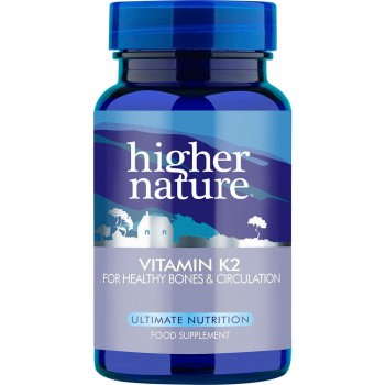 Higher Nature Vitamin K2 60 tablets