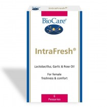 BioCare IntraFresh Pessaries 6pc