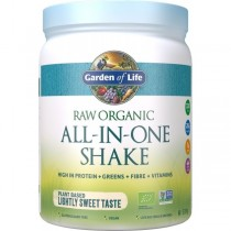 Garden of Life Raw Organic All-in-One Shake Lightly Sweet
