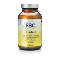 FSC Life Line Caps with Ginseng 90 capsules