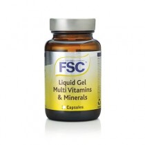 FSC Liquid Gel Multi Vitamins and Minerals 60 capsules