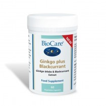 Biocare Ginkgo Plus Blackcurrant