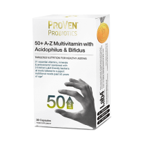 ProVen Probiotics 50 Plus A-Z Multivitamins with Acidophilus and Bifidus