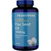 Higher Nature Omega Excellence Flax Seed Oil 180 capsules