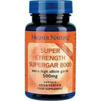 Higher Nature SuperGar Super Strength Garlic 90 tablets