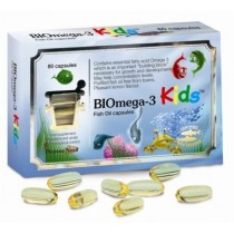Pharma Nord BIOmega 3 Kids 1000mg 80 capsules