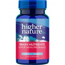 Higher Higher Nature Brain Nutrients 180 capsules