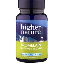 Higher Nature Bromelain 90 capsules