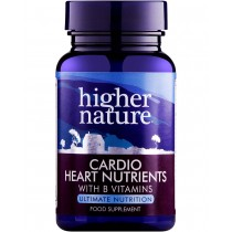 Higher Nature Cardio Heart Nutrients 120 capsules