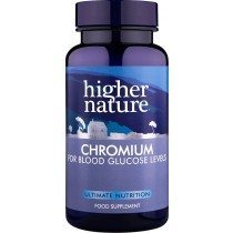 Higher Nature Chromium Picolinate 200mcg 90 tablets