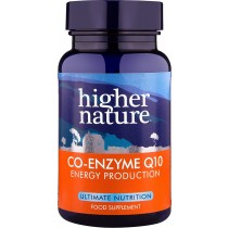 Higher Nature Co Enzyme Q10 30mg 30 tablets