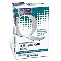 Lamberts Co-Enzyme Q10 200mg 60 capsules