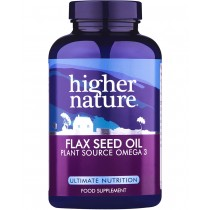 Higher Nature Flax Seed Oil 180 capsules
