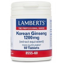 Lamberts Korean Ginseng 600mg 60 tablets