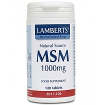 Lamberts MSM 1000mg 120 tablets