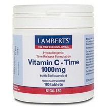 Lamberts Vitamin C Time Released with Bioflavonoids 180 tablets