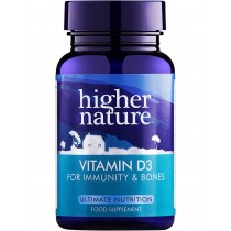 Higher Nature Vitamin D 500iu 120 capsules