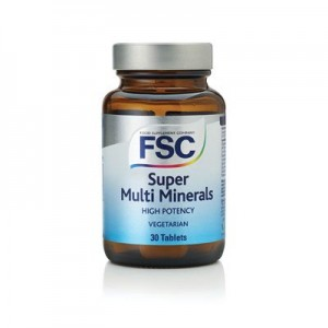 FSC Super Multi Minerals 30 tablets