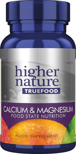 Higher Nature True Food Calcium and Magnesium 120 tablets