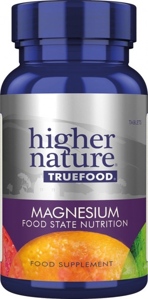 Higher Nature True Food Magnesium 30 tablets