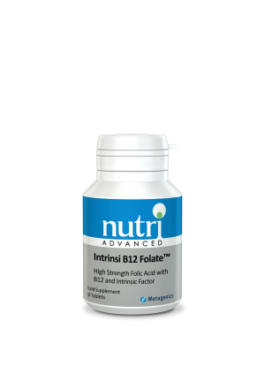 Nutri Advanced Intrinsi B12 Folate 60 tablets