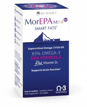 MorEPA Mini Junior 60 capsules