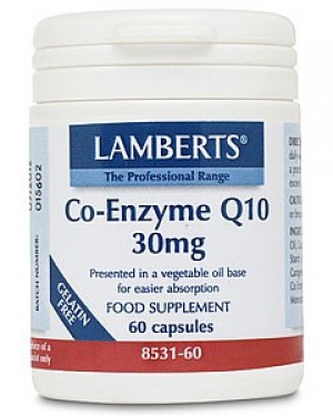 Lamberts Co Enzyme Q10 30mg 180 capsules