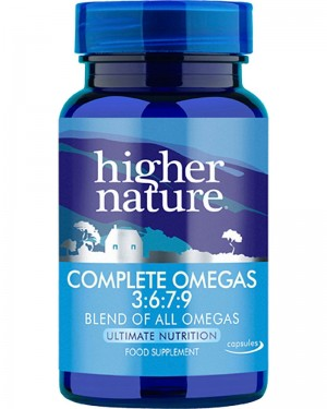 Higher Nature Complete Omegas 3:6:7:9 240 capsules